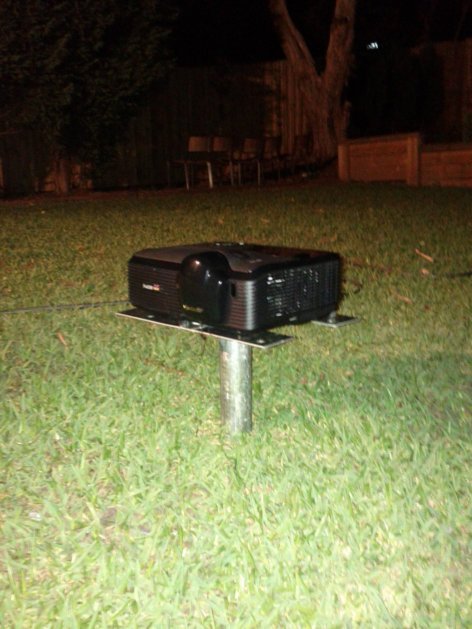 Outdoor Home Theatre Projector Stand Gt Make It Break It
