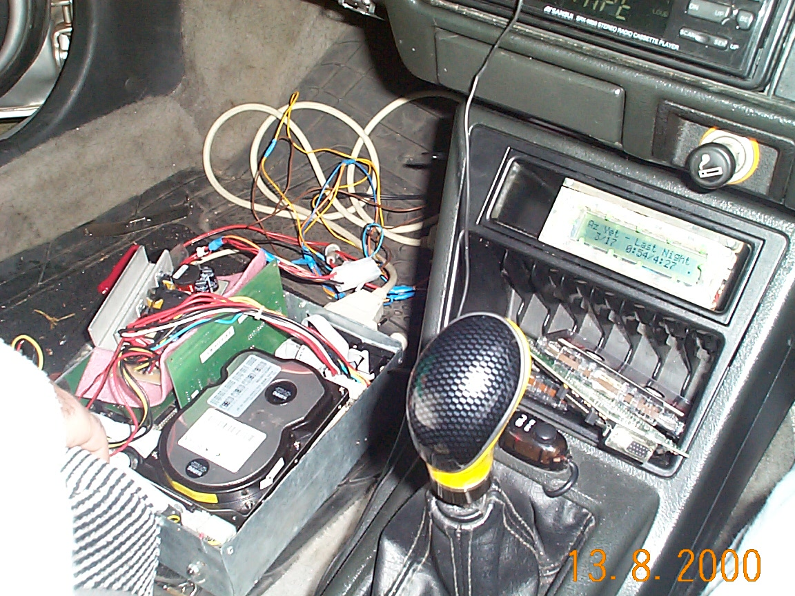 My first Car PC, from 1999!